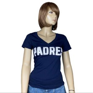 PINK Victoria's Secret SD Padres Sequins Tee MLB